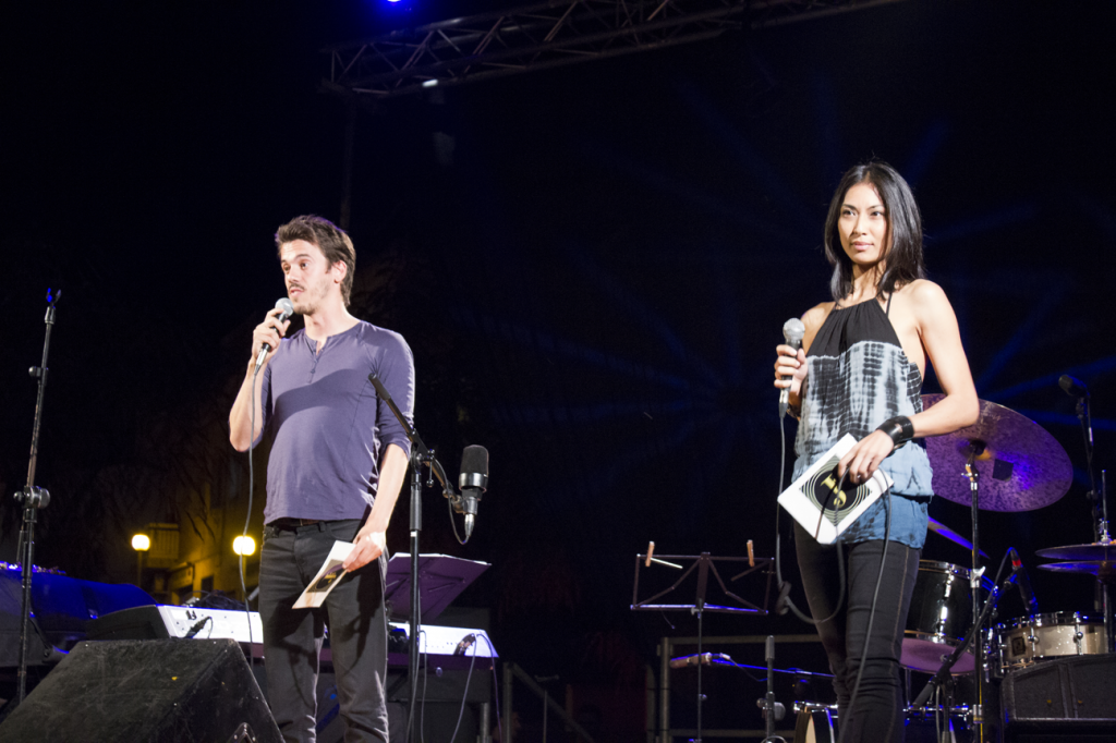 Vanessa Castro i Sergio Arrospide al Festival Pallejazz 2013